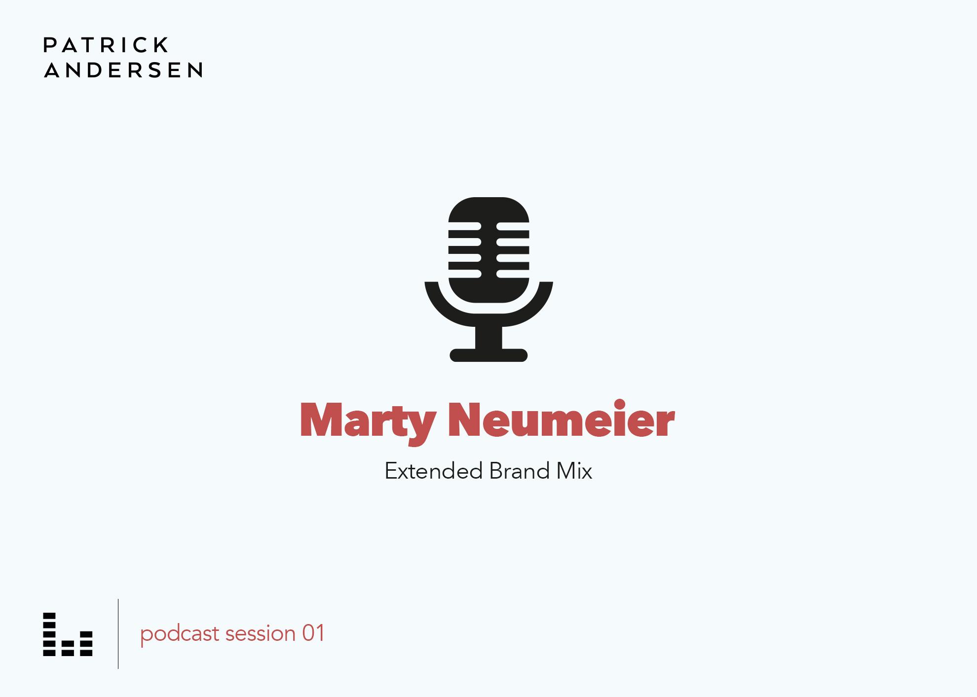 Patrick Andersen Podcast 01 Marty Neumeier